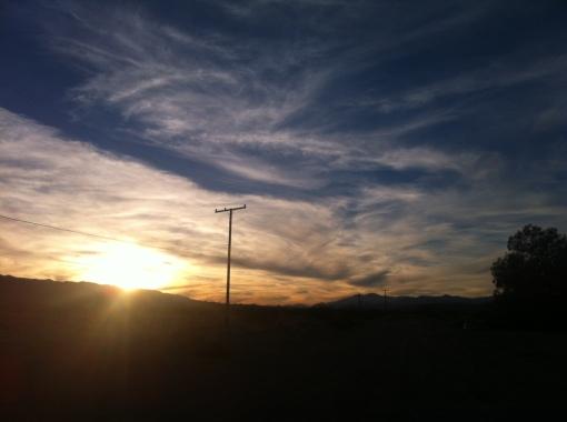 sunset 2014 01 04