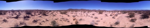 Pano from the spot